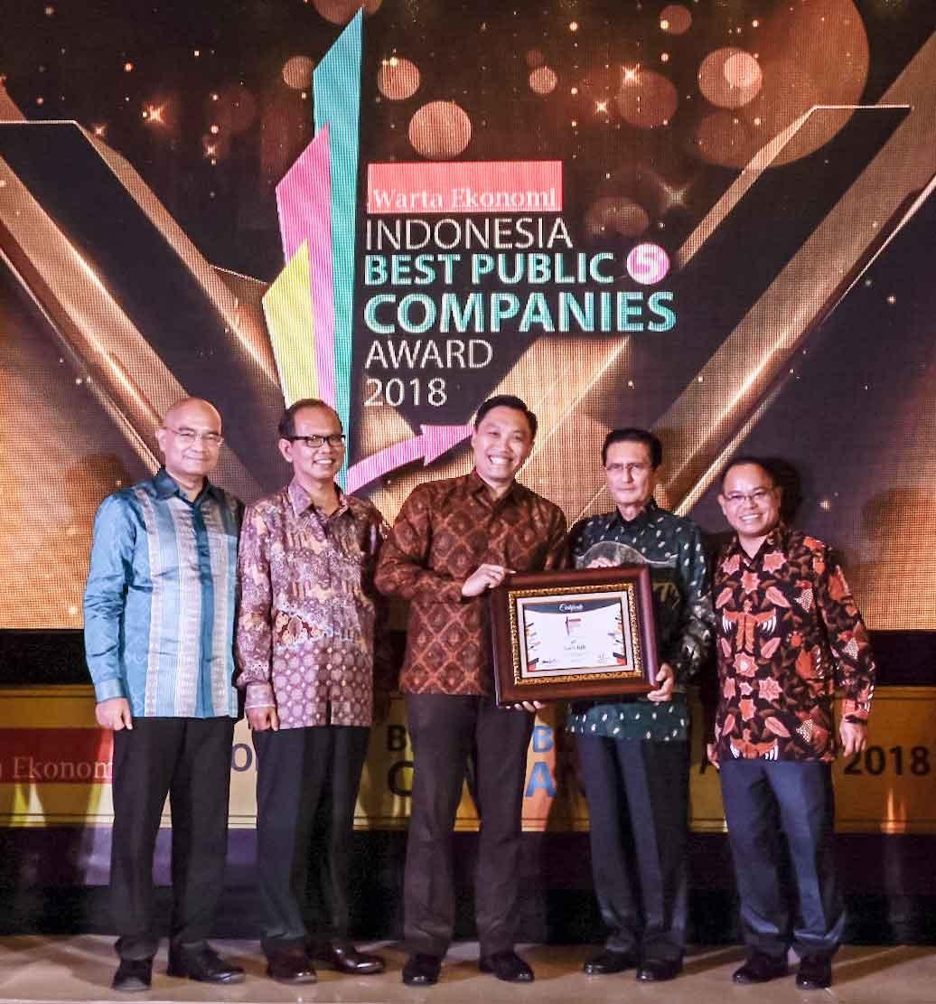 bank bjb Berhasil Mendapatkan Penghargaan Indonesia Public Company Award 2018