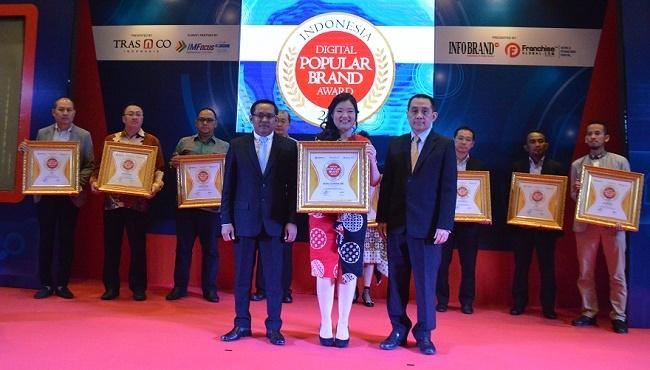 Kali Kedua, Royal Garden Spa Raih Indonesia Digital Popular Brand Award