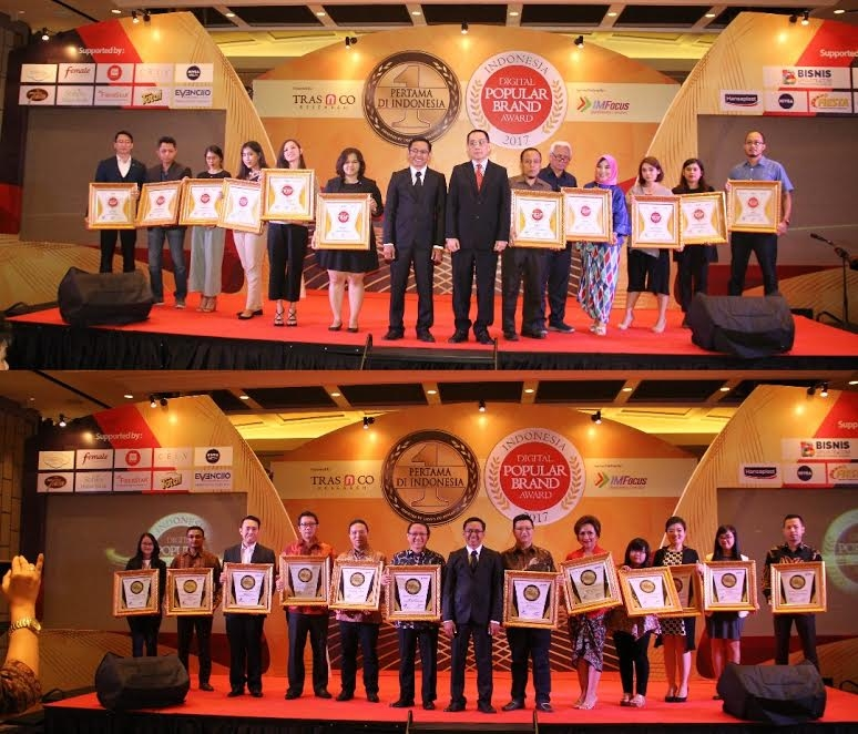 Pemenang Indonesia Digital Popular Brand Award