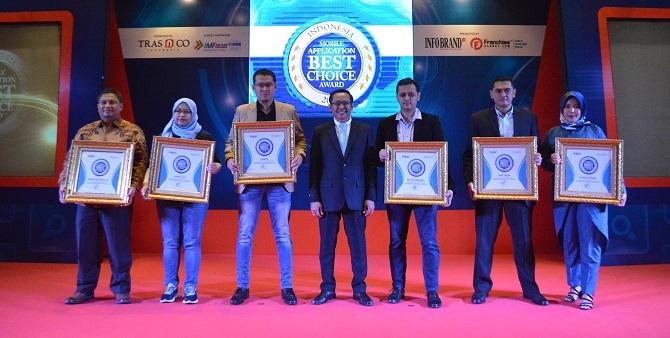 Para peraih Indonesia Mobile Application choice