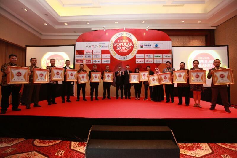 Para peraih Anugerah Brand Indonesia