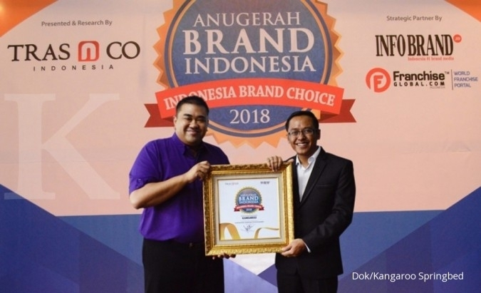 Kangaroo Springbed Raih Anugerah Brand Indonesia 2018