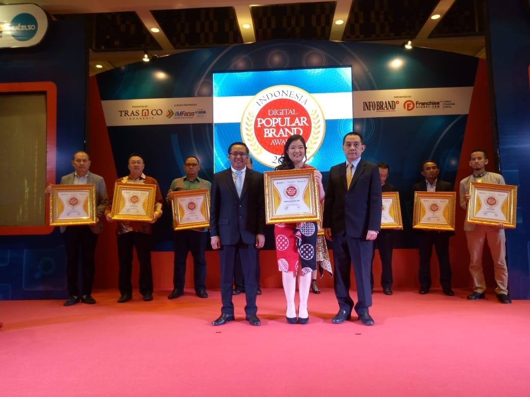 Royal Garden Spa raih Indonesia Digital Popular Brand Award 2018