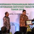 Terapkan Prinsip Industri Hijau, APP Sinar Mas Kembali Raih Penghargaan dari Kemenperin