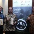 Pertamina Raih Tiga Penghargaan Sustainable Business Awards Indonesia 2018