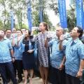 Aqua dan Bluebird Resmi Jalin Kerjasama