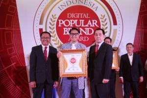 SHARP Indonesia Raih Penghargaan Indonesia Digital Popular Brand Award 2019