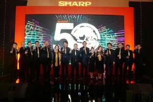 Sambut HUT ke- 50, Sharp Luncurkan  Program Bertema Angka 5 Hingga Product Berwarna Emas
