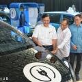Apresiasi Taksi Listrik Bluebird, Menhub : Ini Selaras dengan Program Pemerintah