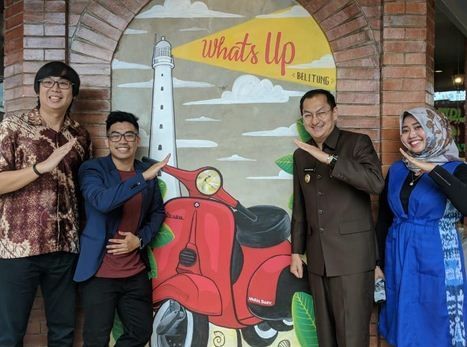 What's Up Cafe Resmikan Cabang Baru di Belitung
