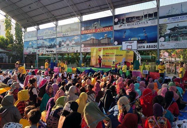 PT Sinar Indogreen Kencana Berbagi Berkah di Bulan Ramadhan