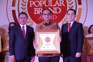 Wika Raih Penghargaan Indonesia Digital Popular Brand Award 2019