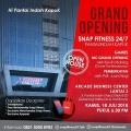24 Jam Snap Fitness Hadir di Pantai Indah Kapuk