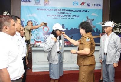 Wika Dukung Program Siswa Mengenal Nusantara 2019