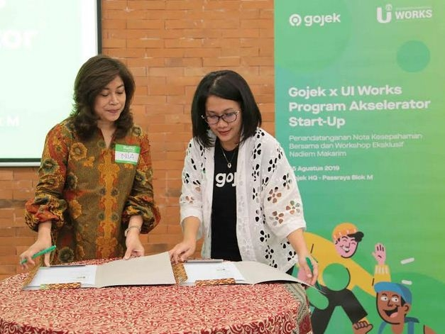 Gojek dan UI Works Bersatu Cetak Start-up Anak Bangsa