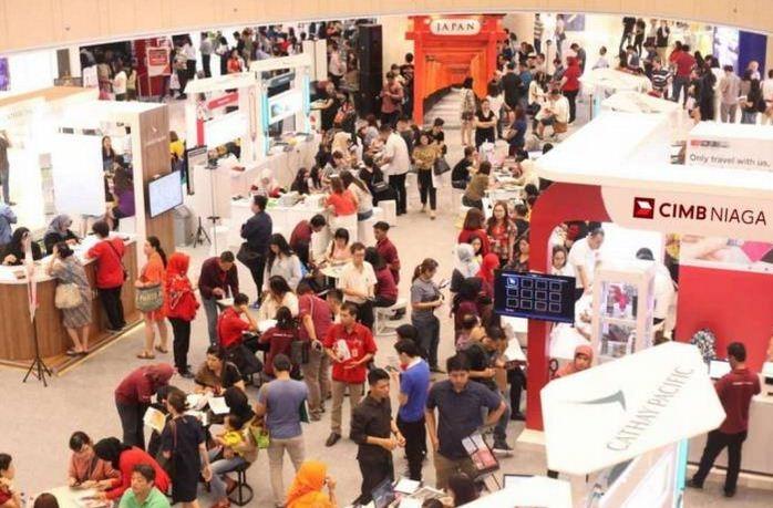 CIMB Niaga Kembali Dukung Cathay Pacific Travel Fair 2019
