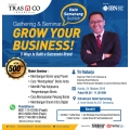 TRAS N CO Adakan Seminar & Gathering Grow Your Business!