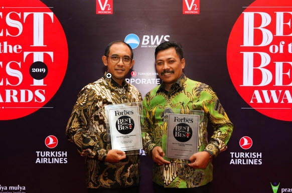 WIKA Masuk Dalam Forbes Top 10 Best of the Best Award 2019