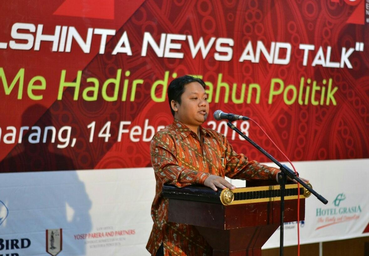 Elshinta Semarang Tangkal Hoax Lewat Independensi Pemberitaan