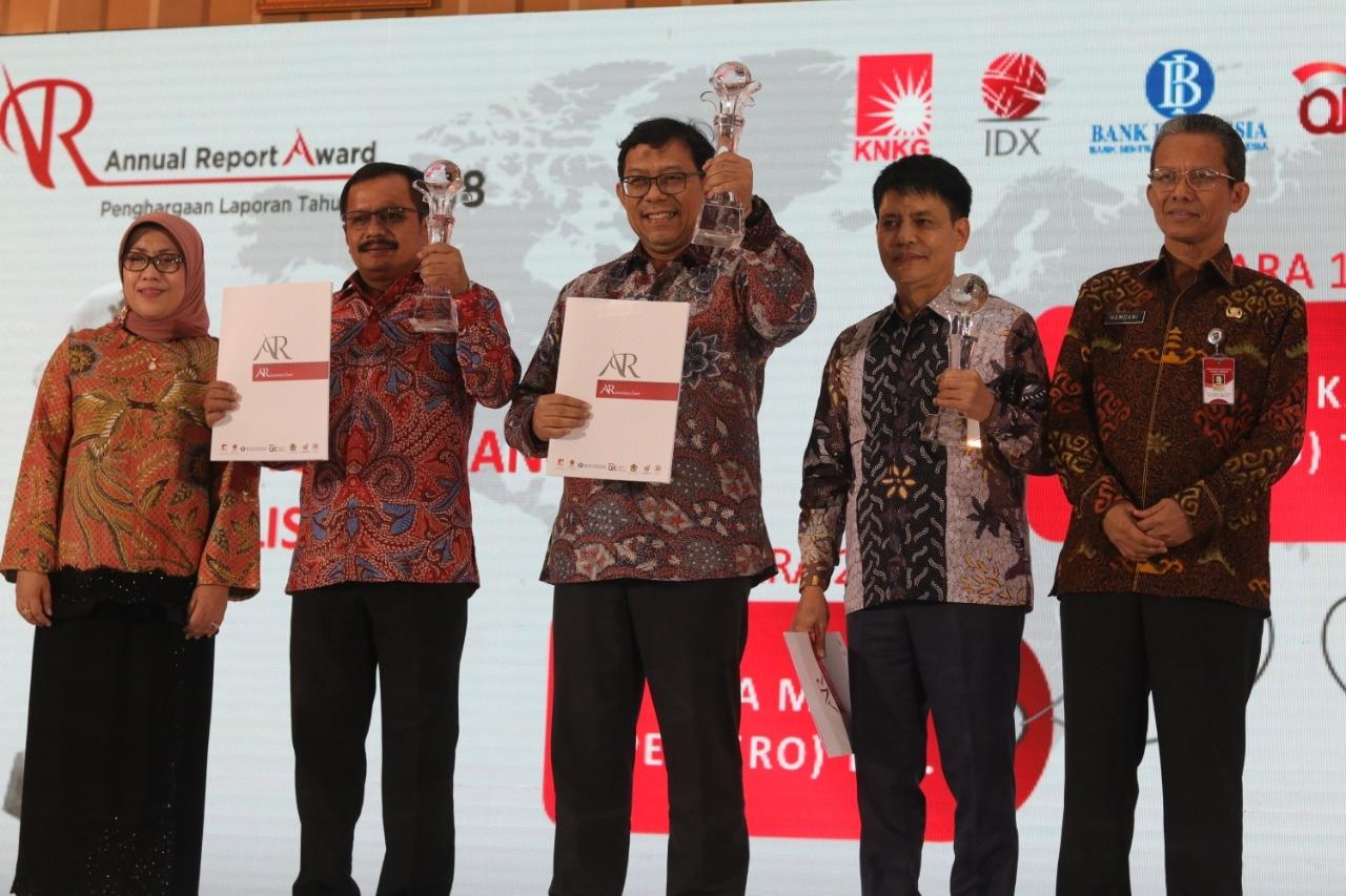 WIKA Juara I Annual Report Award 2018 Kategori BUMN Non Keuangan Listed