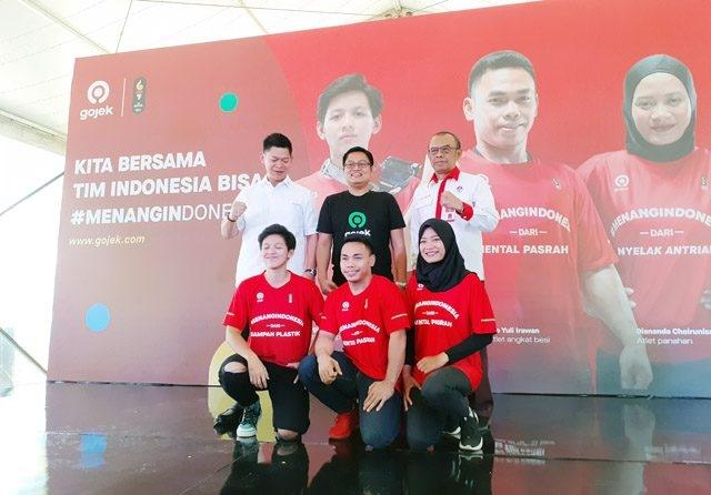 Gojek Jadi Sponsor Resmi Atlet Indonesia di Sea Games 2019