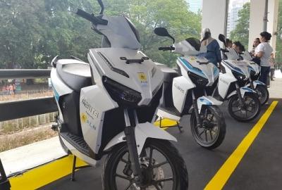 Adu Kecanggihan Motor Listrik di IIMS Motobike Expo 2019