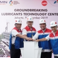 Groundbreaking Lubricants Technology Center: Investasi Teknologi dan Services Masa Depan