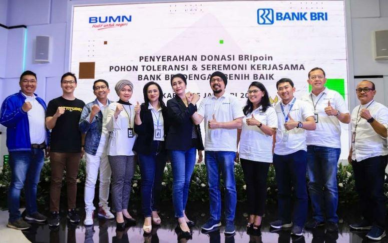 Bank BRI Donasi Rp124 Juta Untuk Melestarikan Lingkungan