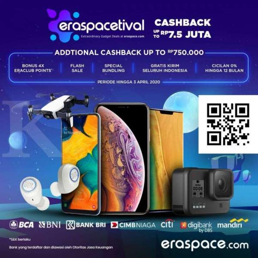 Erajaya Group Gelar Eraspacetival, Festival Gadget Online Terbesar dan Terlengkap