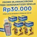 #LawanCorona, Beli Produk Vitabumin Gratis Handsanitizer