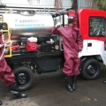 Antisipasi Korona, Kemenperin Kenalkan AMMDes Penyemprot Disinfektan