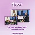 Imboost Ajak Masyarakat Berpartisipasi Melawan Corona Secara Daring