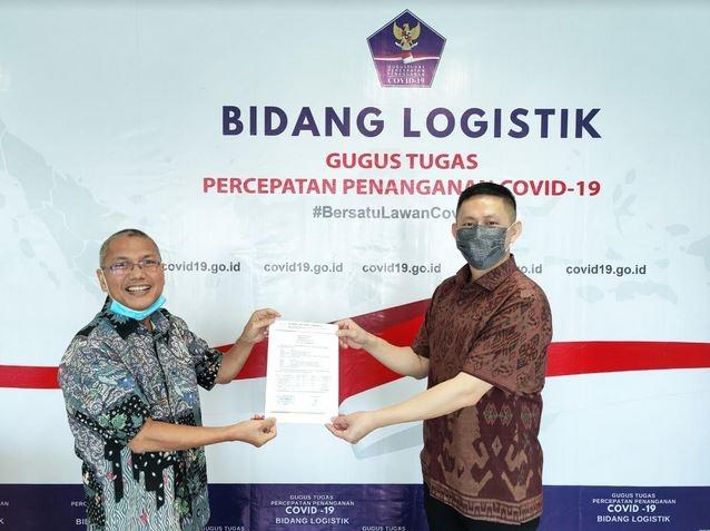 Bersama Jet Care Indonesia, OPPO Kembali Serahkan Donasi Ribuan APD Melalui BNPB