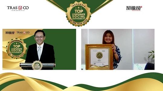 Jalankan Misi Kemanusiaan, Aice Group Sabet Penghargaan Indonesia Top Corporate Social Responsibility of the year 2020
