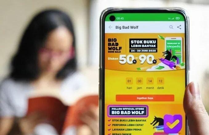 Bazar Buku Online Big Bad Wolf Official Store Kembali Hadir di Tokopedia