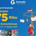 Sambut HUT RI ke-75, Gramedia Beri Beragam Diskon bagi Pelanggan