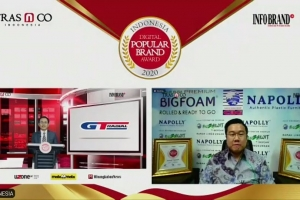 Napolly Raih Indonesia Digital Popular Brand Award 2020