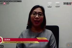 Blackmores Sabet Indonesia Digital Popular Brand Award 2020