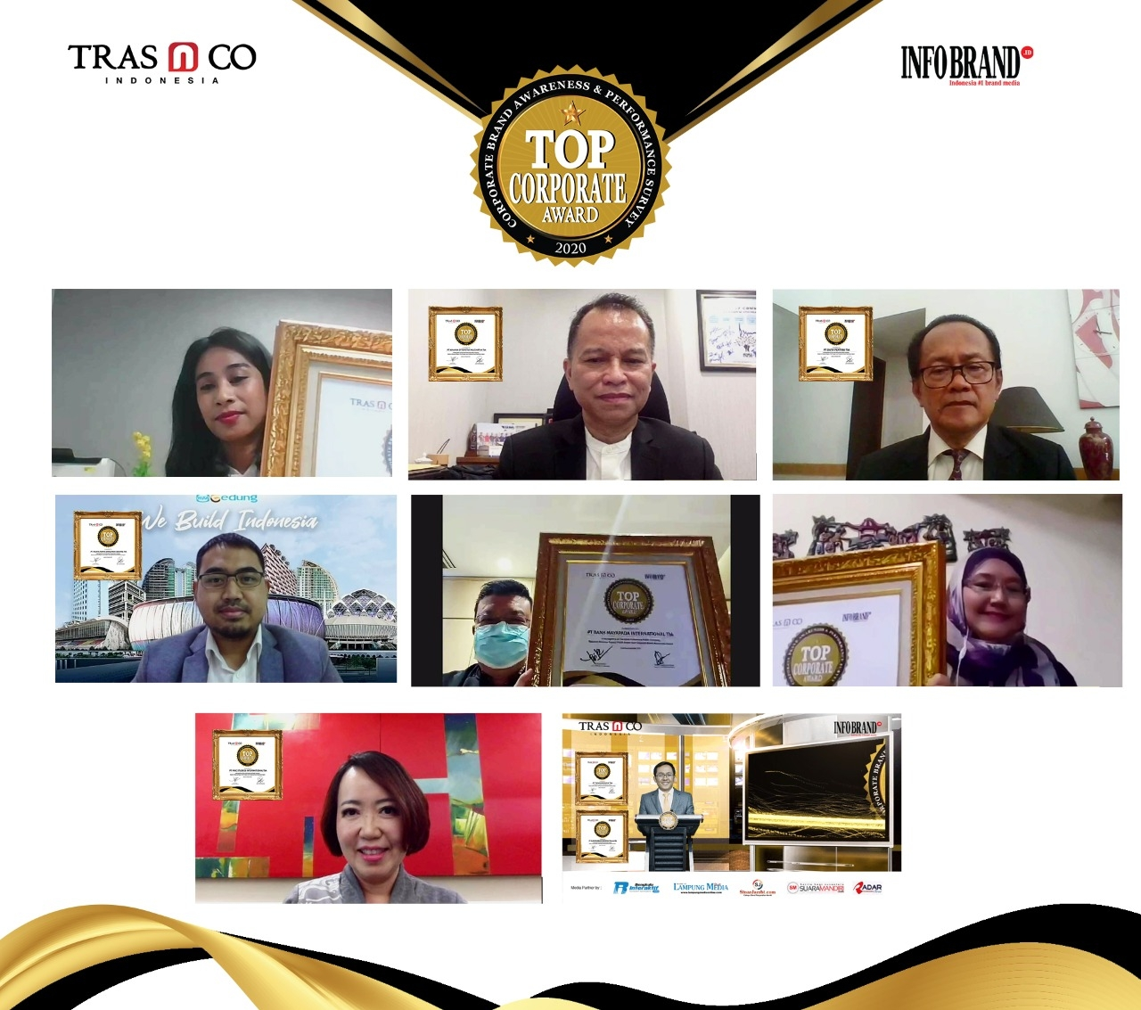96 Emiten Raih Top Corporate Award 2020