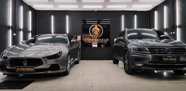 Memoles Cuan dari Bisnis Kemitraan King Shield, Salon Coating Mobil Pilihannya Para Artis