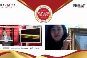 Miliki 280 Pengikut Halaman Facebook dan 117 Followers Instagram, Sweety Raih Indonesia Digital Popular Brand Award