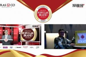 Berinovasi dalam Layanan Digital, Mandiri Utama Finance Sabet Indonesia Digital Popular Brand Award