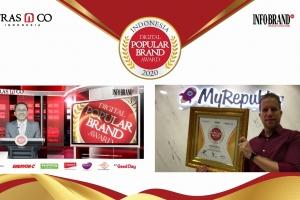 Miliki Puluhan Ribu Pengikut, My Republic Sebet Indonesia Digital Popular Brand Award