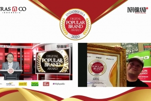 Punya Pengikut 300 Ribu Facebooker, Hippo Diganjar Indonesia Digital Popular Brand Award