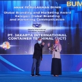 PT Jakarta International Container Terminal Raih Penghargaan Global Branding dan Marketing Communications