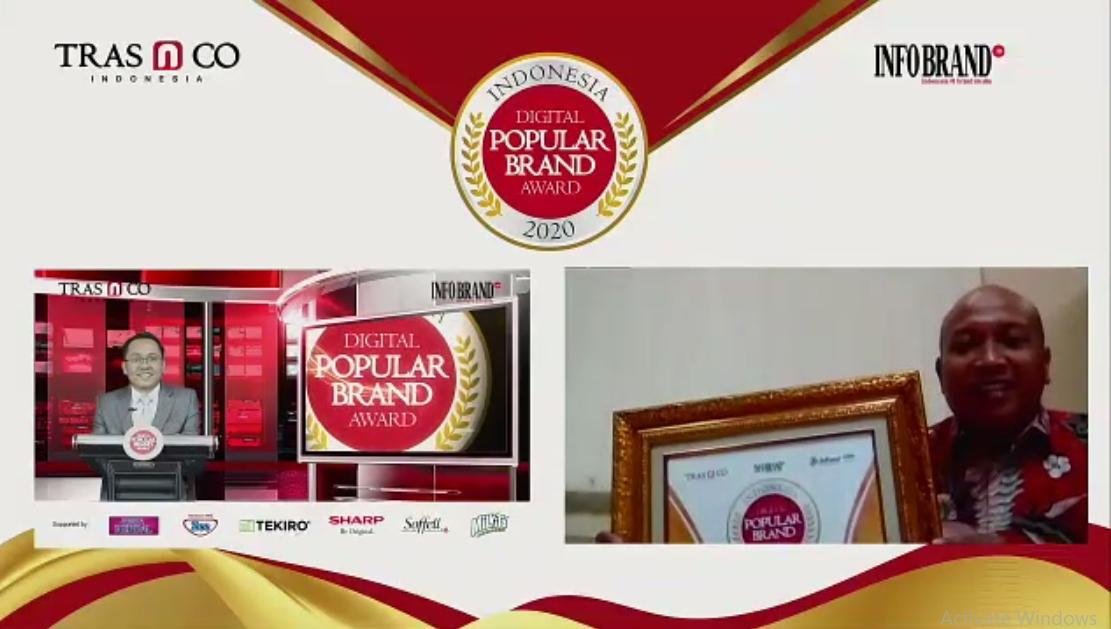 "Magister Manajemen UNPAD Raih ""Indonesia Digital Popular Brand Award 2020"""