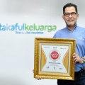 Optimalkan Digital Branding Saat Pandemi, Takaful Keluarga Raih Indonesia Digital Popular Brand Award 2020
