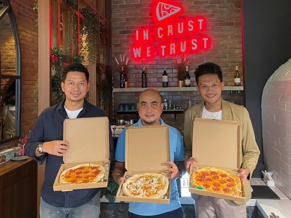 Pizza Custom Pertama di Indonesia Tawarkan Peluang Waralaba