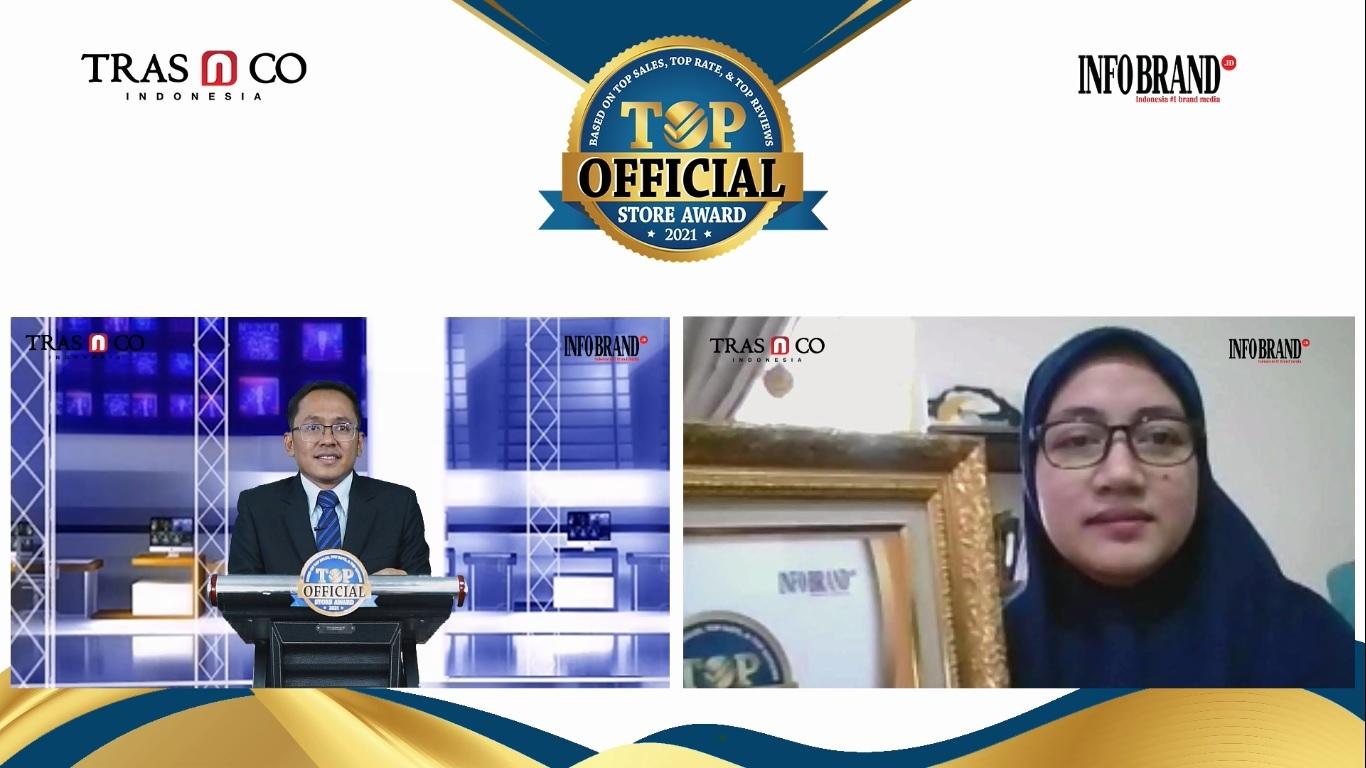 Toko Resminya Diikuti 80 Ribu Lebih Followers, Natur-E Raih Top Official Store Award 2021
