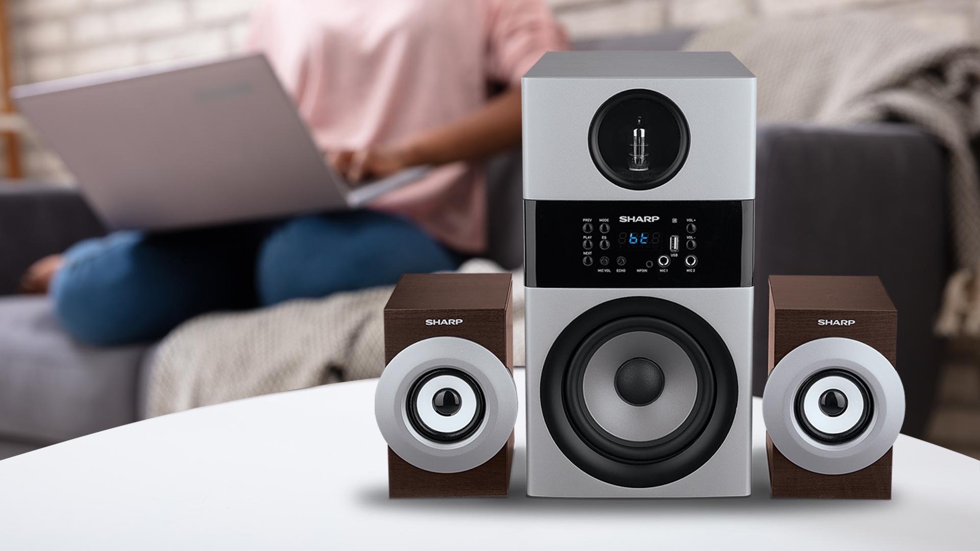 Sharp Luncurkan Active Speaker CBOX-MAX09PA